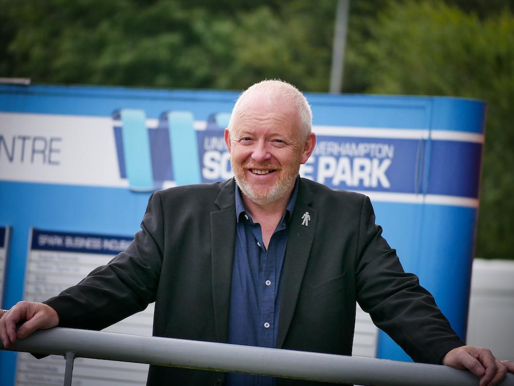 Mark Northall smiling